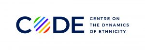 Logo for CoDE - Centre on the Dynamics of Ethnicity